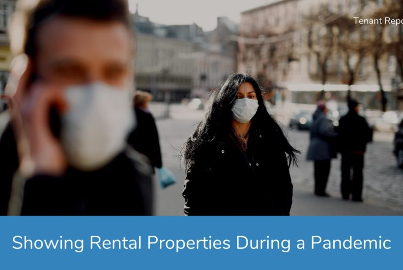 Showing Rental Properties During a Pandemic